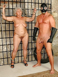 Very old granny bdsm
